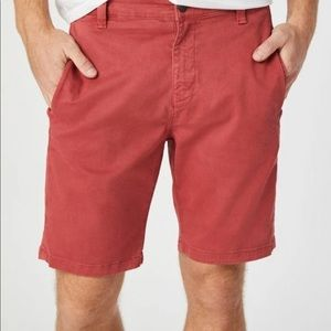 Mavi Simon Red Brick Men's Shorts size 32